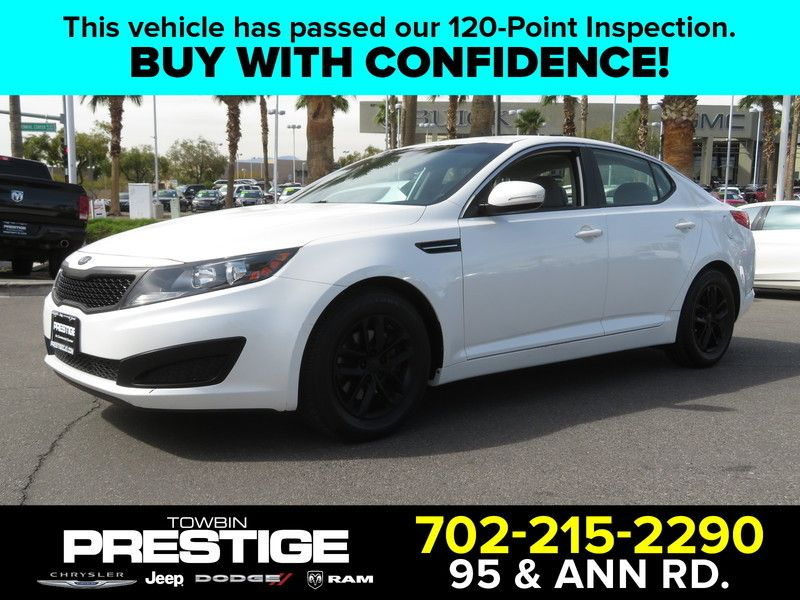 2011 Kia Optima 4dr Sedan 2.4L Automatic LX - 17525562 - 0