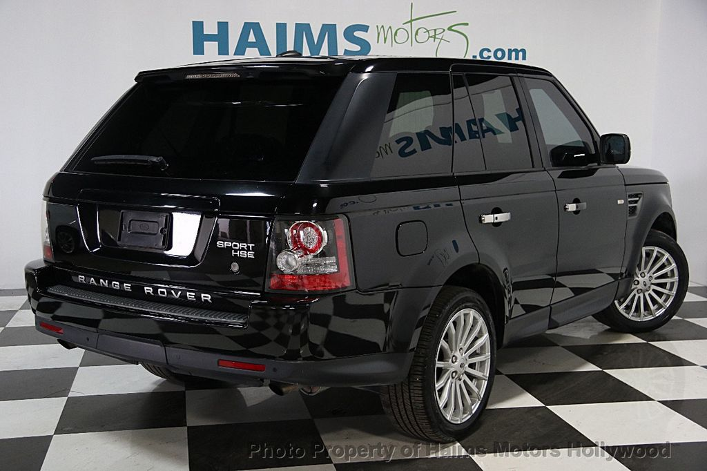 2011 used land rover range rover sport 4wd 4dr hse at haims motors ft lauderdale serving. Black Bedroom Furniture Sets. Home Design Ideas