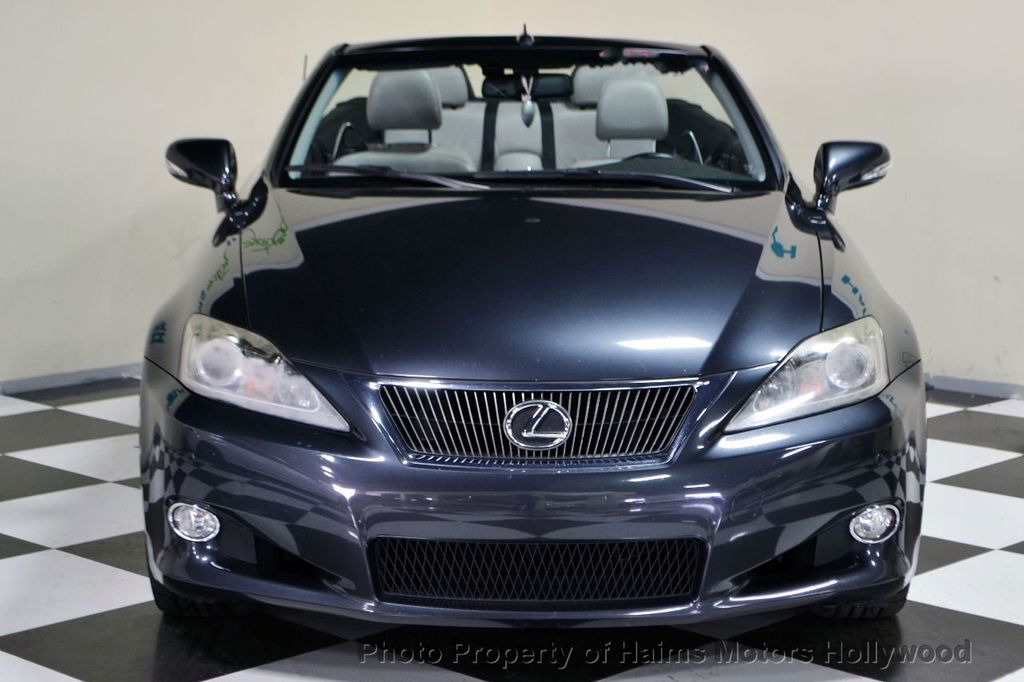 2011 used lexus is 250c 2dr convertible automatic at haims motors serving fort lauderdale. Black Bedroom Furniture Sets. Home Design Ideas
