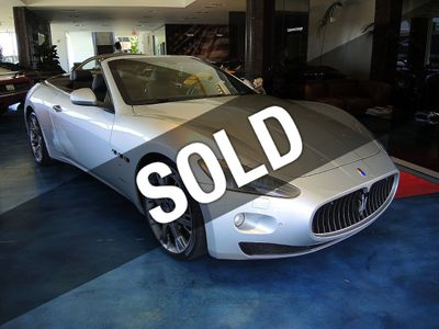 2011 Maserati GranTurismo Convertible 2dr