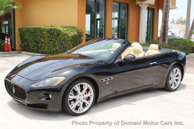 Used Maserati Granturismo >> 2011 Used Maserati Granturismo Convertible 5 154 Mile Convertible
