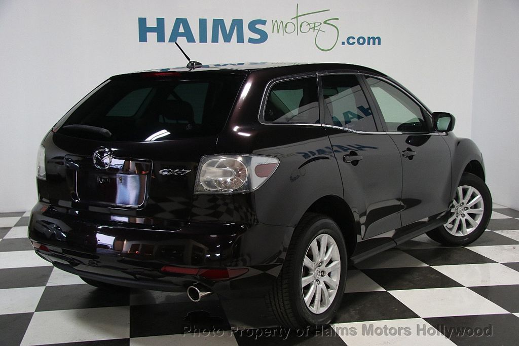 2011 used mazda cx 7 fwd 4dr i touring at haims motors serving fort lauderdale hollywood miami. Black Bedroom Furniture Sets. Home Design Ideas