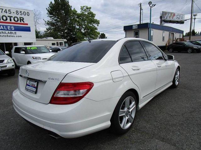 2011 Mercedes-Benz C-Class 4dr Sedan C 300 Luxury 4MATIC Sedan for Sale  Lynnwood, WA - $12,988 - Motorcar com