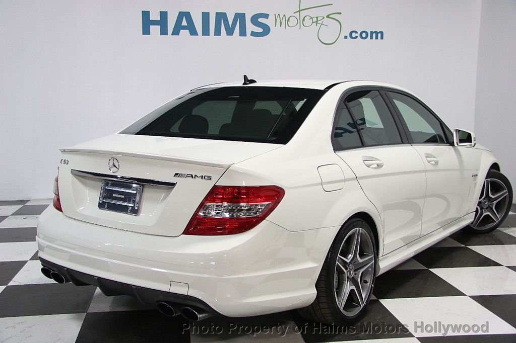 2011 used mercedes benz 4dr sedan c63 amg rwd at haims motors serving fort lauderdale hollywood. Black Bedroom Furniture Sets. Home Design Ideas