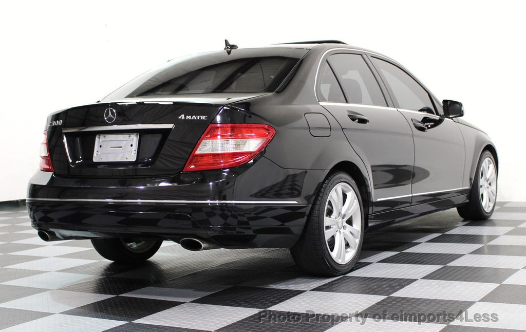 2011 Mercedes-Benz C-Class C300 4MATIC LUXURY MODEL AWD SEDAN - 16535767 - 13