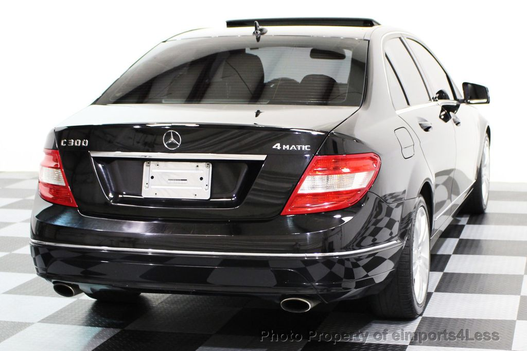 2011 Mercedes-Benz C-Class C300 4MATIC LUXURY MODEL AWD SEDAN - 16535767 - 40