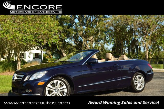 Mercedes Benz Sarasota >> 2011 Used Mercedes Benz E Class 2dr Cabriolet E 350 Rwd W P1 And Wood Trim Packages At Encore Motorcars Of Sarasota Fl Iid 19484845