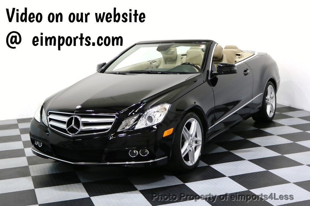 2011 Mercedes-Benz E-Class CERTIFIED E350 AMG Sport Package CAMERA NAVI - 17365777 - 0