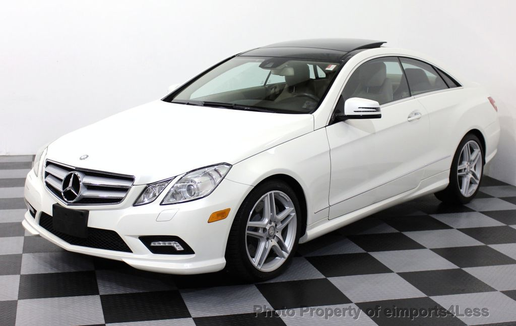 2011 used mercedes benz certified e550 amg sport coupe for Used mercedes benz e350 coupe