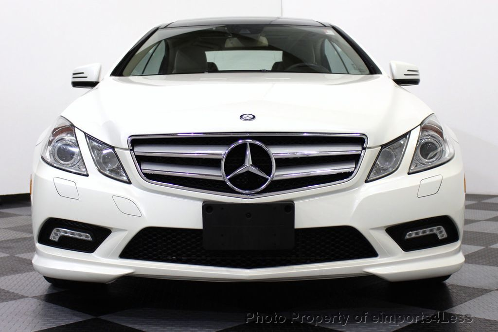 2011 used mercedes benz certified e550 amg sport coupe for Mercedes benz cpo
