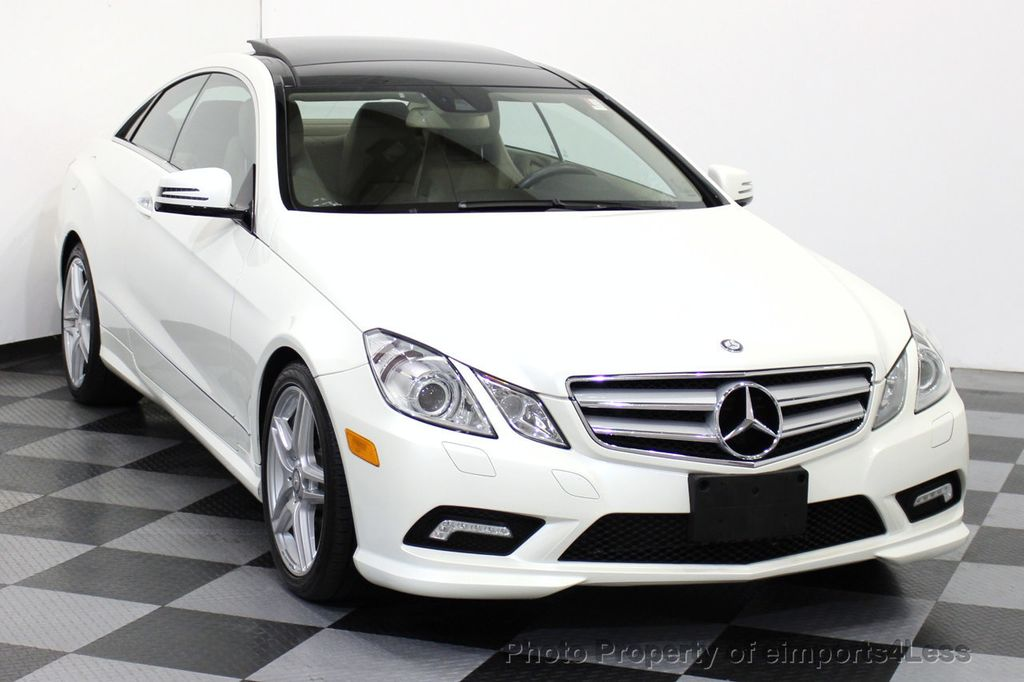 2011 used mercedes benz certified e550 amg sport coupe for Mercedes benz certified