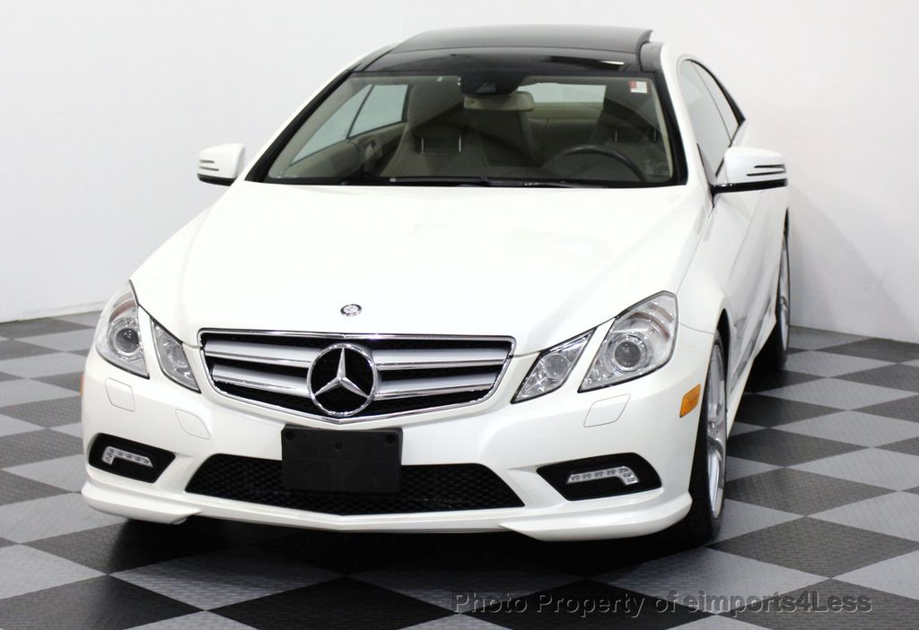 2011 used mercedes benz certified e550 amg sport coupe for Mercedes benz e class 2011
