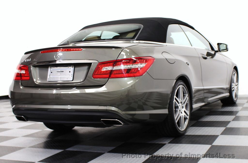 2011 used mercedes benz certified e550 v8 amg sport for Used mercedes benz e350 convertible