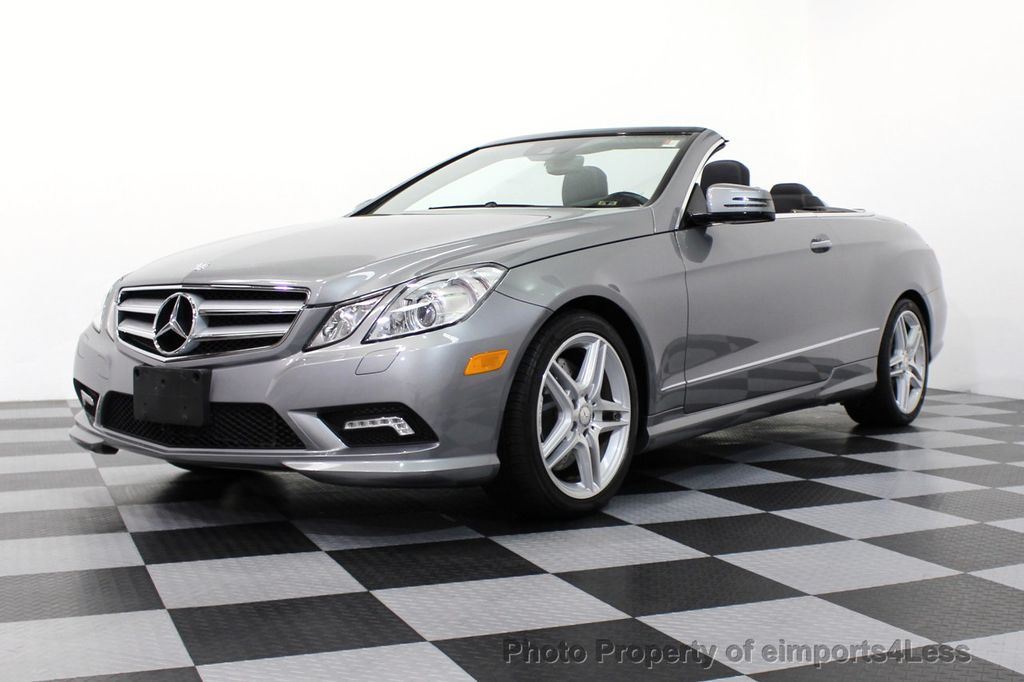 2011 used mercedes benz certified e550 v8 amg sport p2 for Mercedes benz e350 convertible 2011