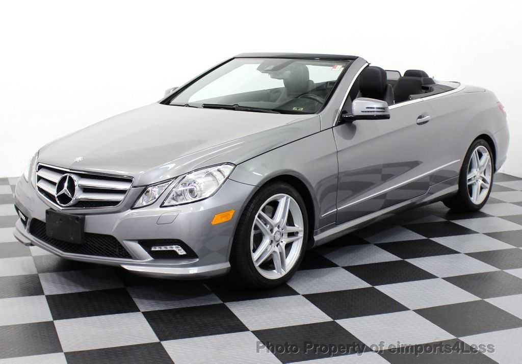 2011 used mercedes benz certified e550 v8 amg sport p2 for Mercedes benz e class cabriolet for sale