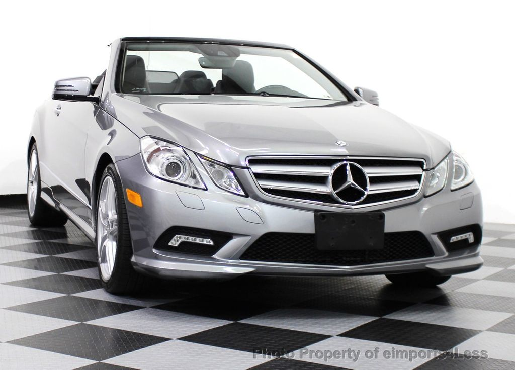 2011 used mercedes benz certified e550 v8 amg sport p2 for Used convertible mercedes benz for sale