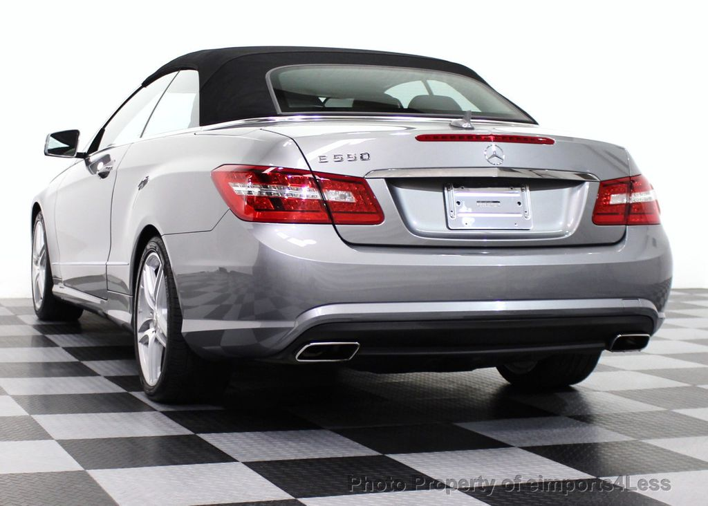 2011 used mercedes benz certified e550 v8 amg sport p2 for Mercedes benz e350 convertible used