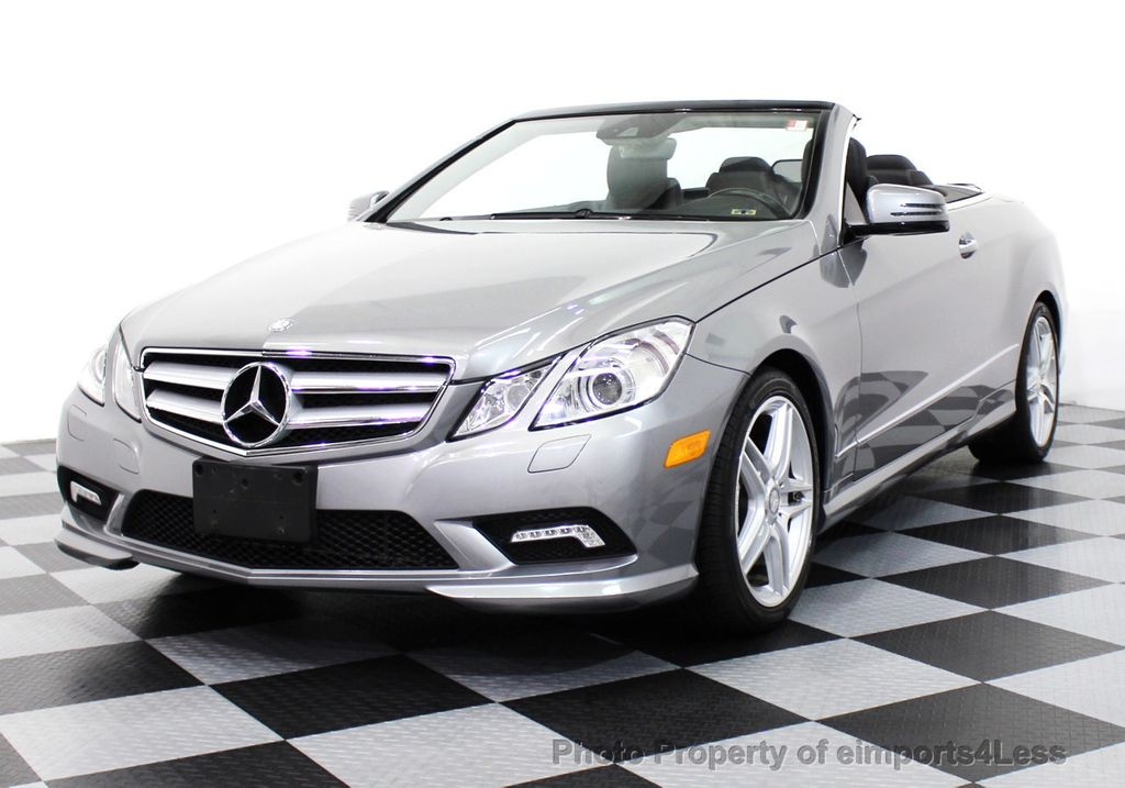 2011 used mercedes benz certified e550 v8 amg sport p2 for Mercedes benz e550