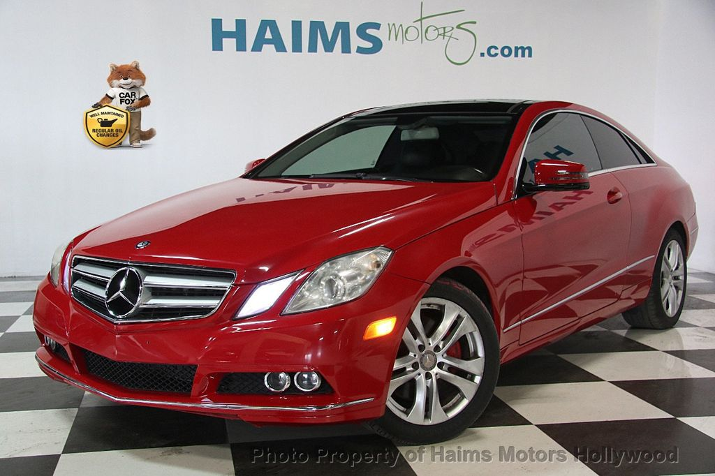 2011 used mercedes benz e class e 350 2dr coupe e350 rwd at haims motors ft lauderdale serving. Black Bedroom Furniture Sets. Home Design Ideas