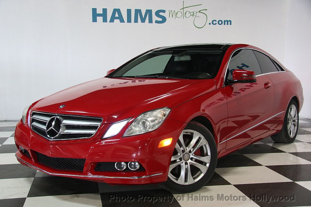 2011 used mercedes benz e class e 350 2dr coupe e350 rwd at haims motors serving fort lauderdale. Black Bedroom Furniture Sets. Home Design Ideas