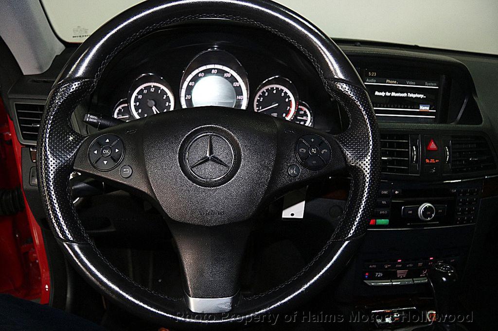 2011 Mercedes-Benz E-Class E 350 2dr Coupe E350 RWD - 17156387 - 24