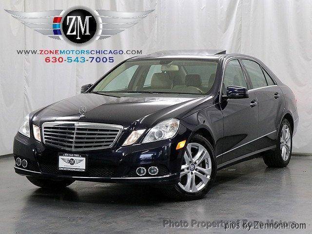 2011 Used Mercedes Benz E Class E 350 4dr Sedan E350 Sport 4matic At Zone Motors Serving Addison Il Iid 18308266