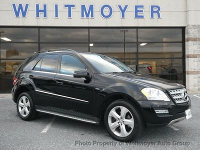 2011 Mercedes-Benz M-Class 4MATIC 4dr ML 350 BlueTEC SUV