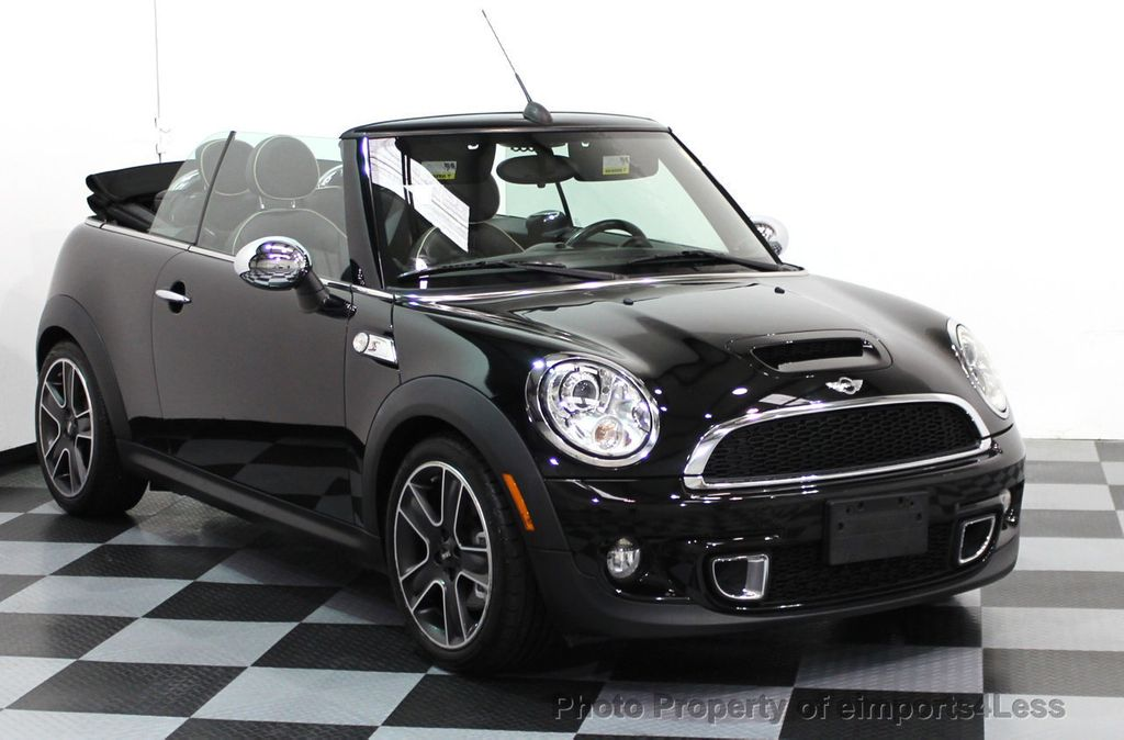 2011 used mini cooper s convertible certified cooper s. Black Bedroom Furniture Sets. Home Design Ideas