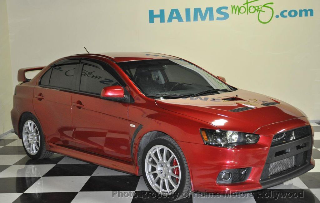 Beautiful 2011 Mitsubishi Lancer 4dr Sedan Manual Evolution GSR AWD   13121092   2