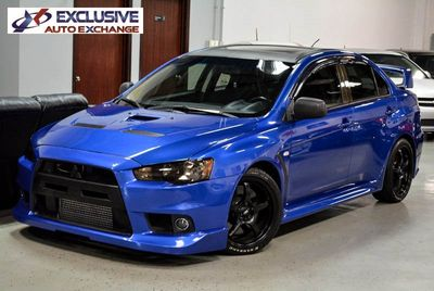 2011 Mitsubishi Lancer Evolution X GSR Sedan