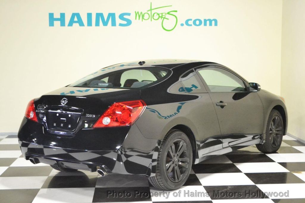 2011 used nissan altima 2dr coupe i4 cvt 2 5 s at haims motors serving fort lauderdale. Black Bedroom Furniture Sets. Home Design Ideas