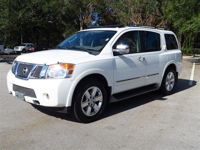 2011 Nissan Armada 2WD 4dr Platinum SUV   5N1BA0NFXBN615112   2