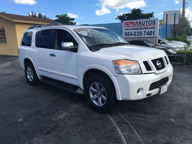 2011 Used Nissan Armada 2WD 4dr SV at A Luxury Autos Serving Miramar ...
