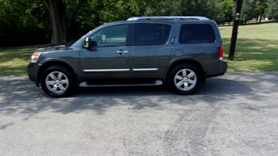 2011 Nissan Armada 4WD 4dr Platinum - Click to see full-size photo viewer