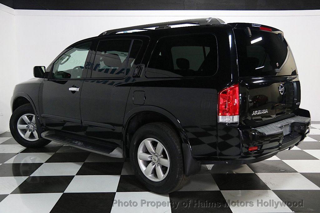 2011 Used Nissan Armada SV at Haims Motors Serving Fort Lauderdale ...