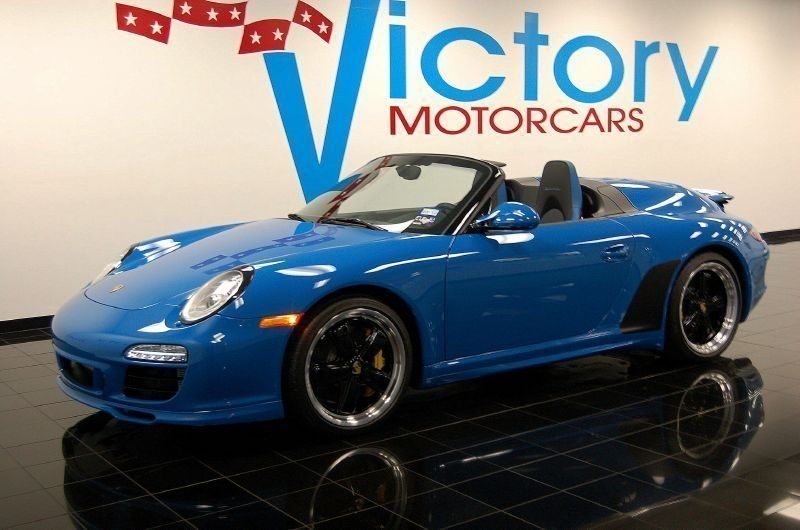 2011 Used Porsche 911 Speedster At Victory Motorcars Serving Houston