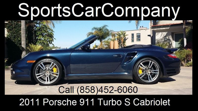 2011 Porsche 911 TURBO S CAB Turbo Cabriolet - 17412511 - 1