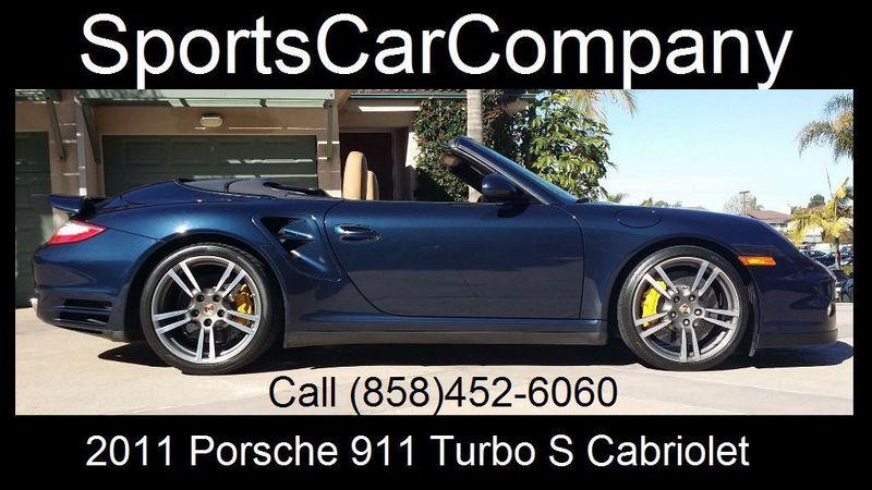2011 Porsche 911 TURBO S CAB Turbo Cabriolet - 17412511 - 2