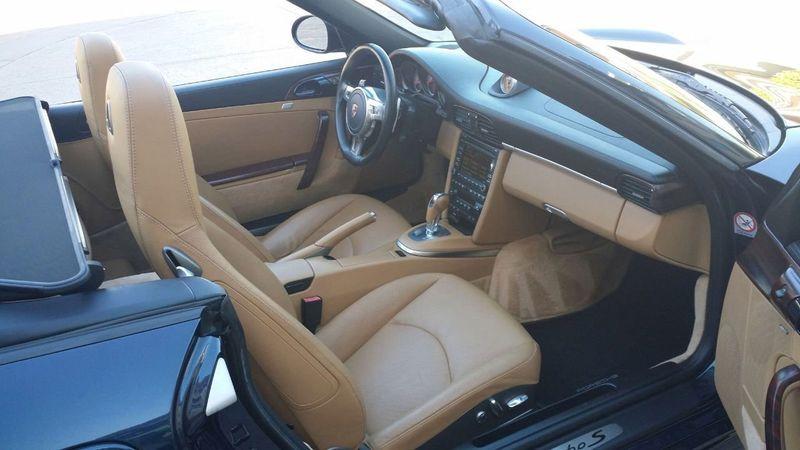 2011 Porsche 911 TURBO S CAB Turbo Cabriolet - 17412511 - 38