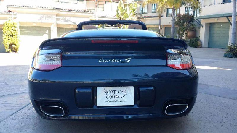 2011 Porsche 911 TURBO S CAB Turbo Cabriolet - 17412511 - 44