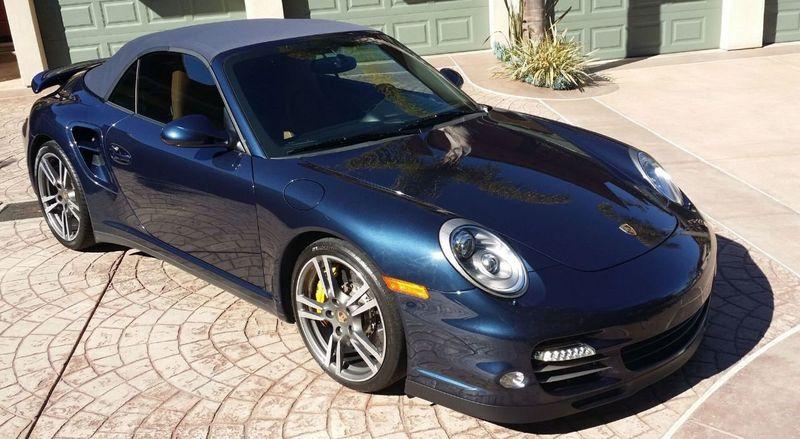 2011 Porsche 911 TURBO S CAB Turbo Cabriolet - 17412511 - 46