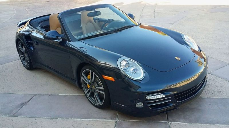 2011 Porsche 911 TURBO S CAB Turbo Cabriolet - 17412511 - 47
