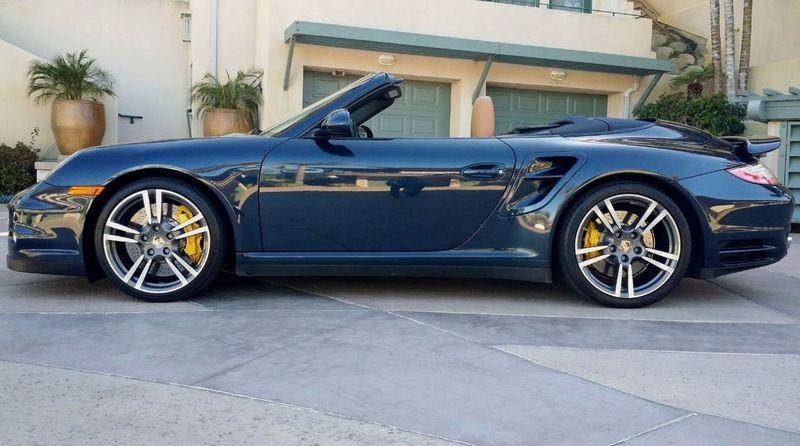 2011 Porsche 911 TURBO S CAB Turbo Cabriolet - 17412511 - 50