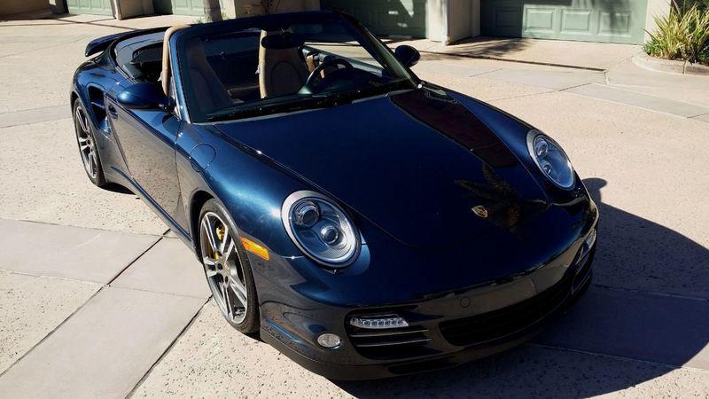 2011 Porsche 911 TURBO S CAB Turbo Cabriolet - 17412511 - 53