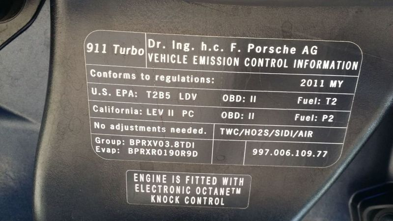 2011 Porsche 911 TURBO S CAB Turbo Cabriolet - 17412511 - 56