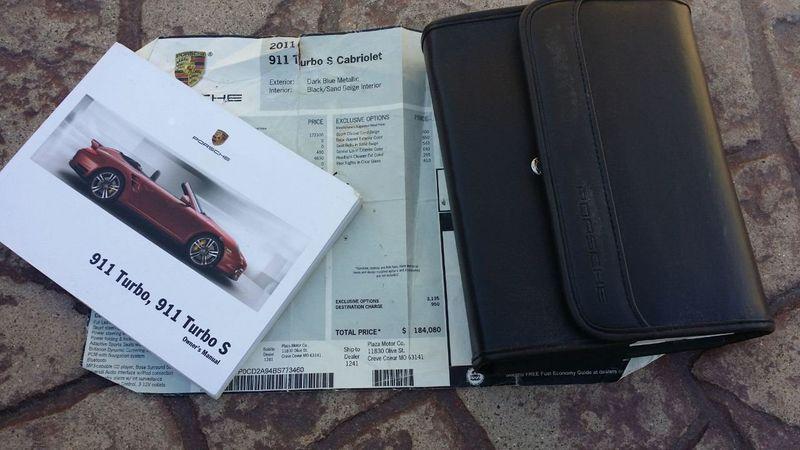 2011 Porsche 911 TURBO S CAB Turbo Cabriolet - 17412511 - 58