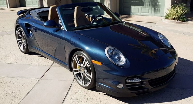2011 Porsche 911 TURBO S CAB Turbo Cabriolet - 17412511 - 8