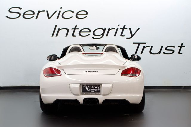 2011 Porsche Boxster SPYDER - Click to see full-size photo viewer