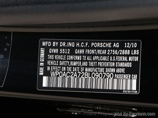 2011 Porsche Panamera 4dr Hatchback Turbo - 18287975 - 40