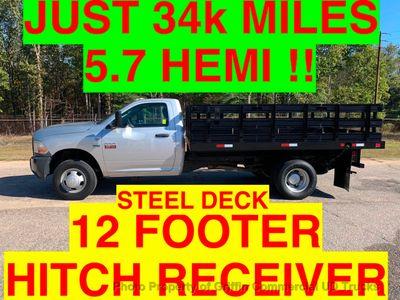 2011 RAM 3500HD JUST 34k MILES 12 FOOT STAKE BODY ONE OWNER SC TRUCK!! HEMI POWERED